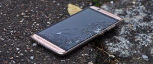 iPhone trincado